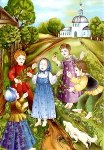 Дети обижают Матрону